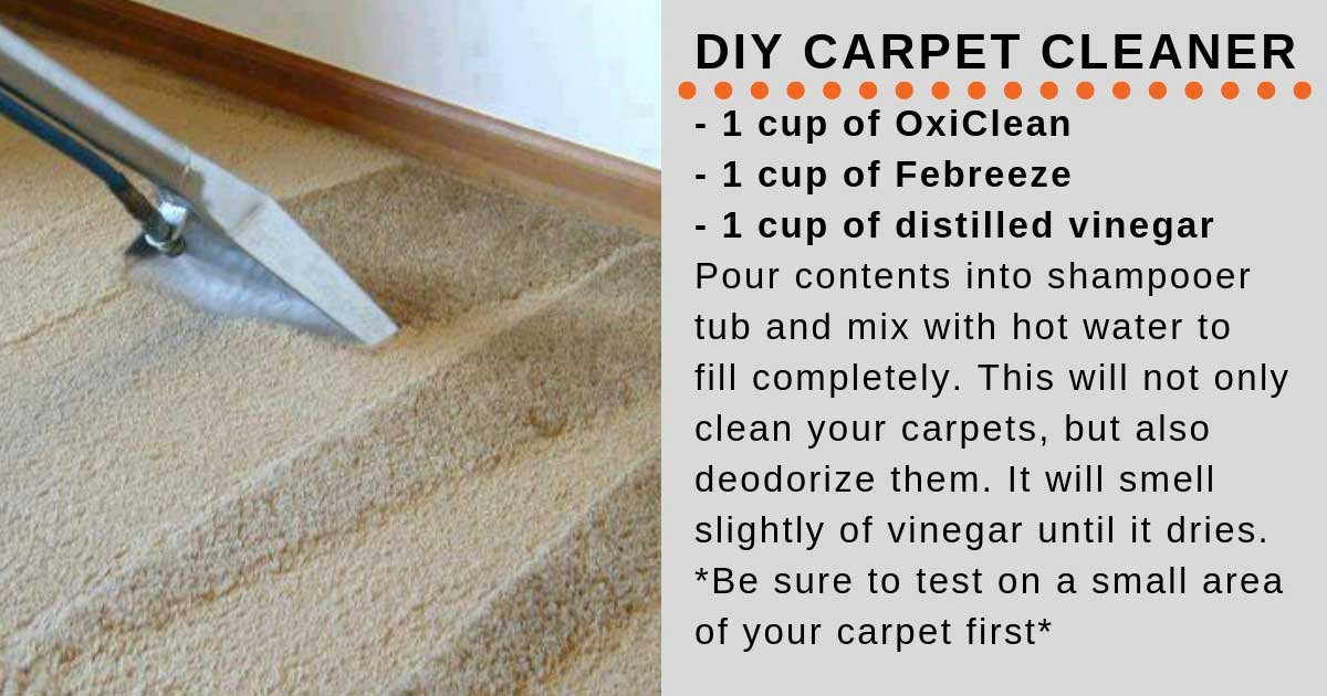 Freshen Up Your Carpets With This Homemade Cleaning Solution
