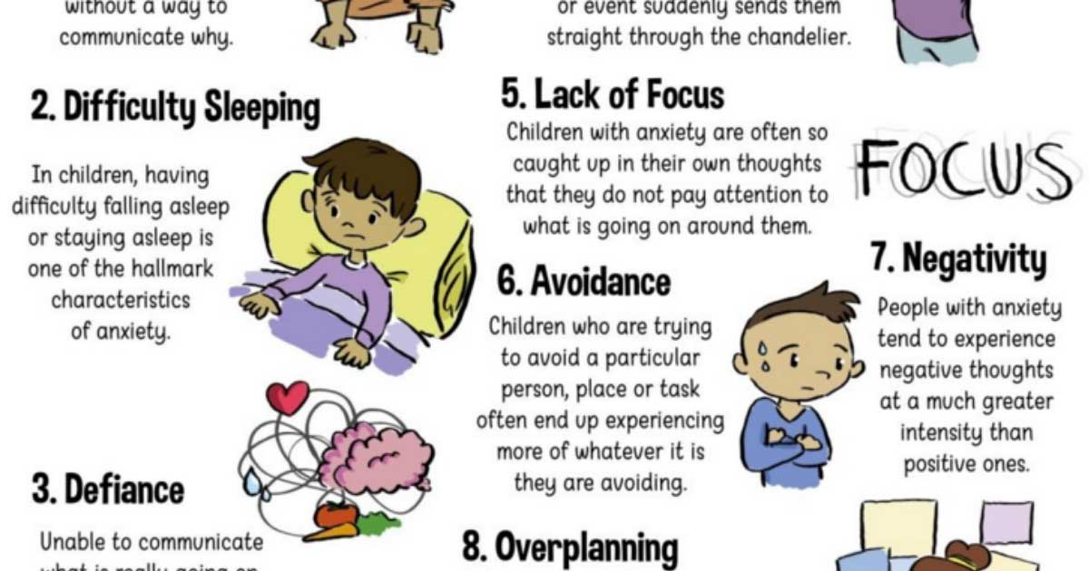 Why Childhood Anxiety Often Goes >> 8 Ways A Child S Anxiety Presents Itself As Something Else