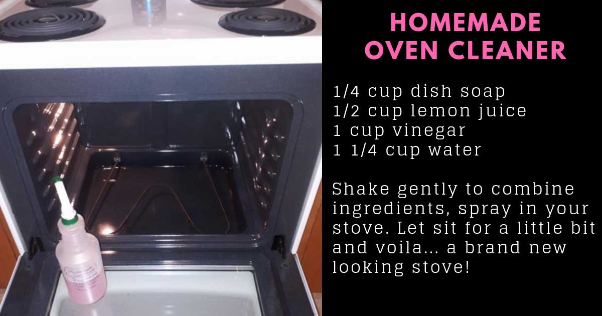 This Homemade Oven Cleaner Will Have