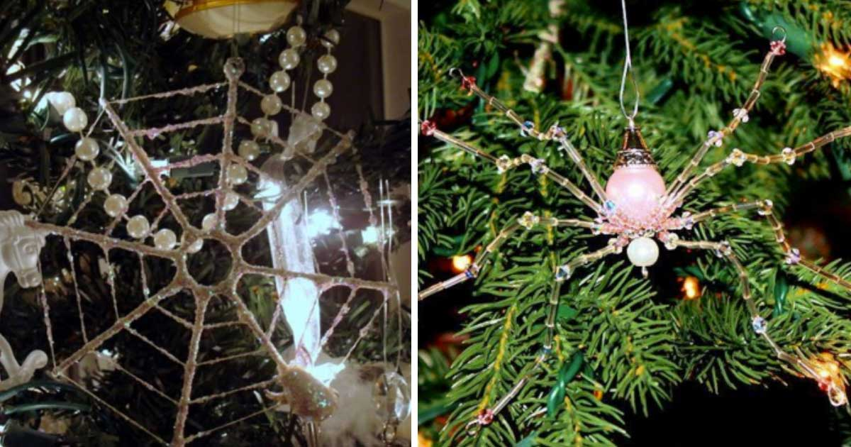 Why People Are Putting Spiders In Their Christmas Trees