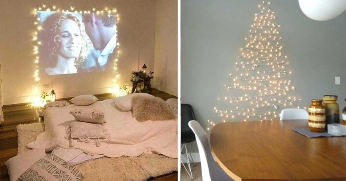 12 Creative Ways To Use Christmas Lights Throughout The House Homemaking Com