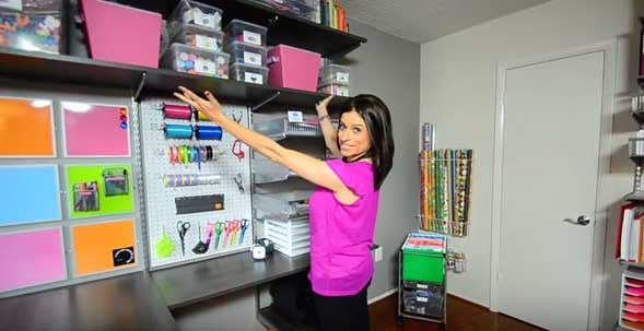 Alejandra Costello Claims To Have The Most Organized House In America Homemaking Com,Colors That Go Well With Red And White