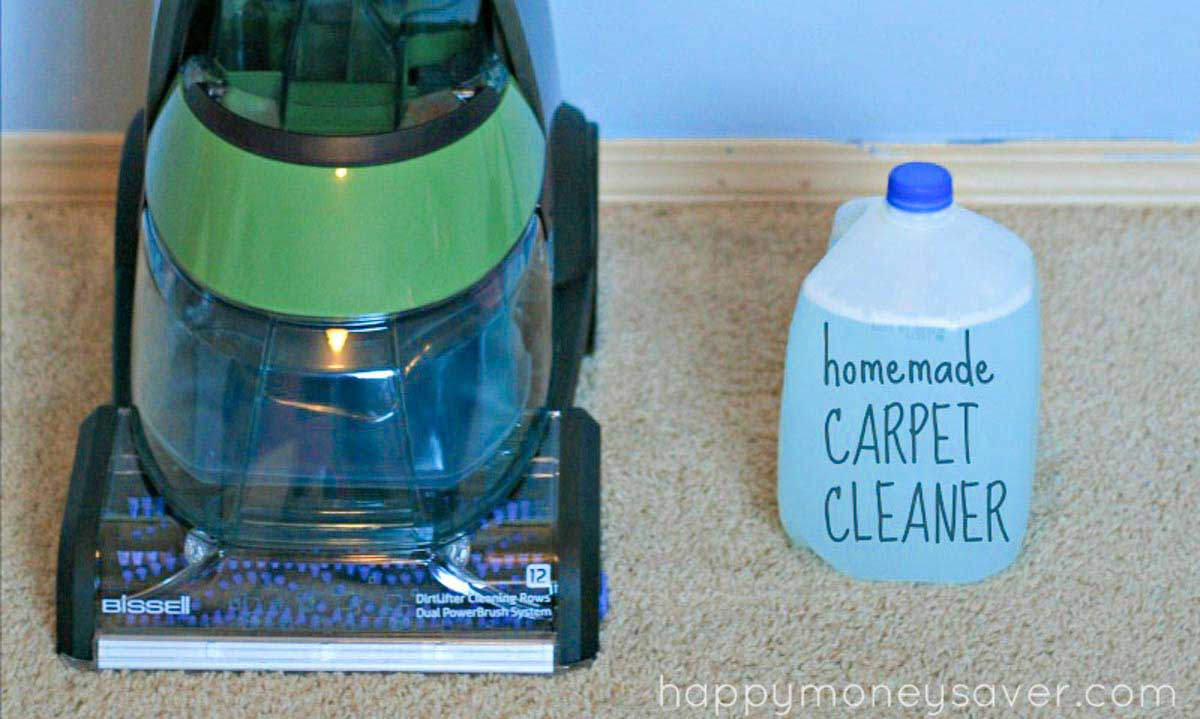 How To Make Your Own Carpet Shampoo Solution